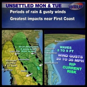 Weather and Forecasts for Gainesville, Ocala and North Central Florida