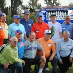 Members of the 1962 Florida Gators Baseball team attended Saturday afternoon's game. The 1962 team was the first UF sports team to ever be ranked #1.