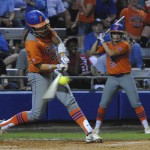Junior Kelsey Horton was one of the six Gators to get a hit Wednesday night,