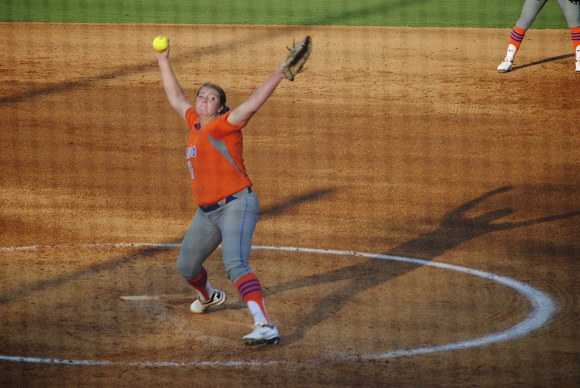 Pitcher Lauren Haegar