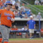 Freshman Bailey Castro was one of the few gators to get on base Wednesday night.