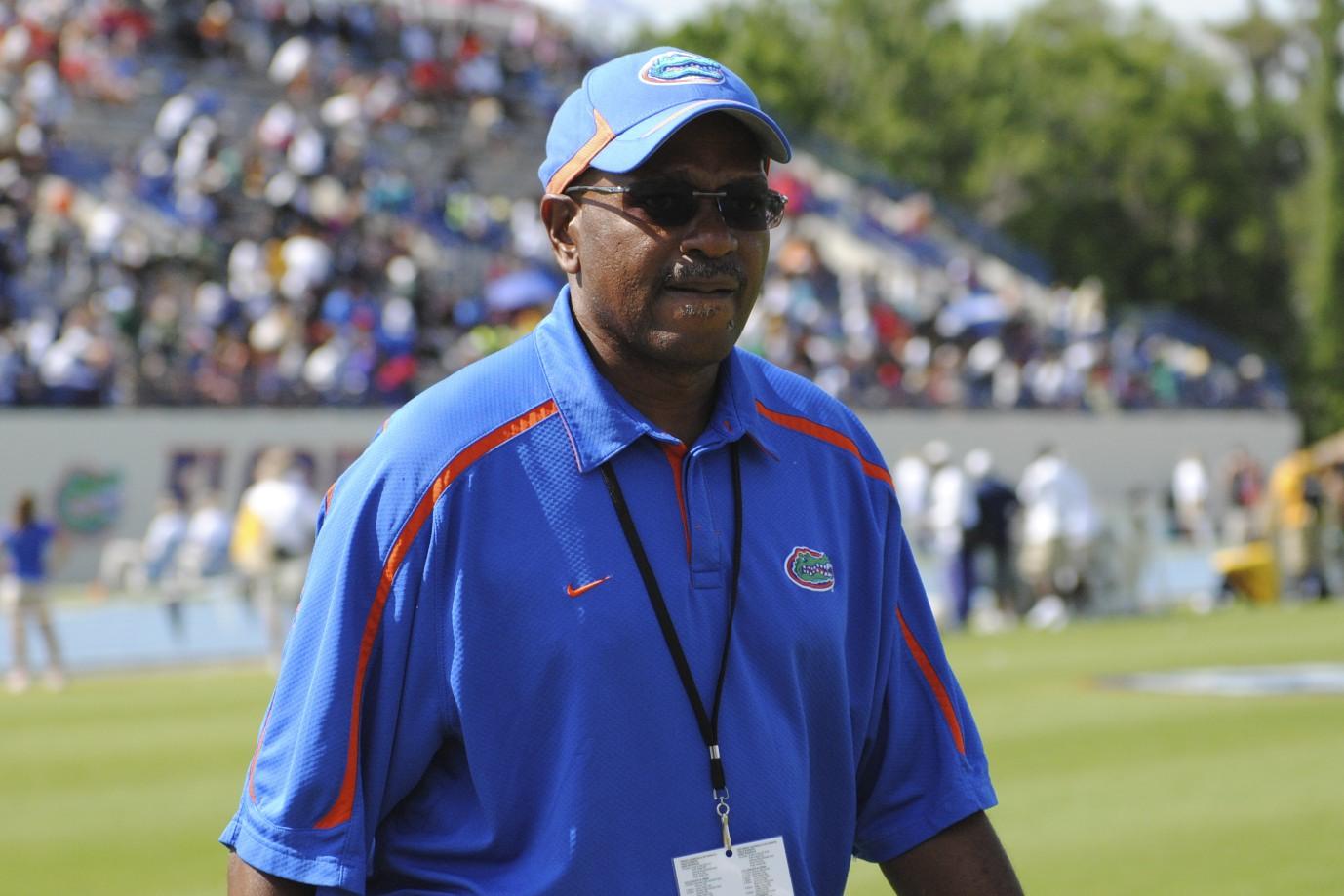 Florida head coach Mike Holloway