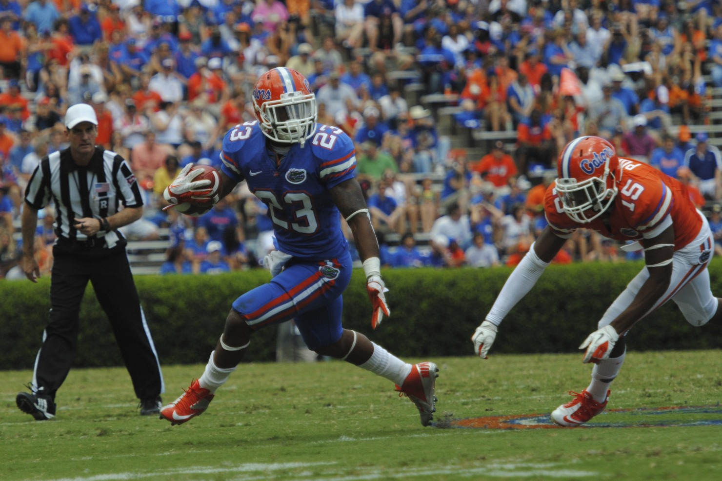 Senior running back Mike Gillislee