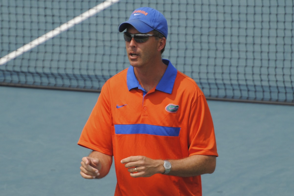 Gators Women's Tennis Head coach Roland Thornqvist