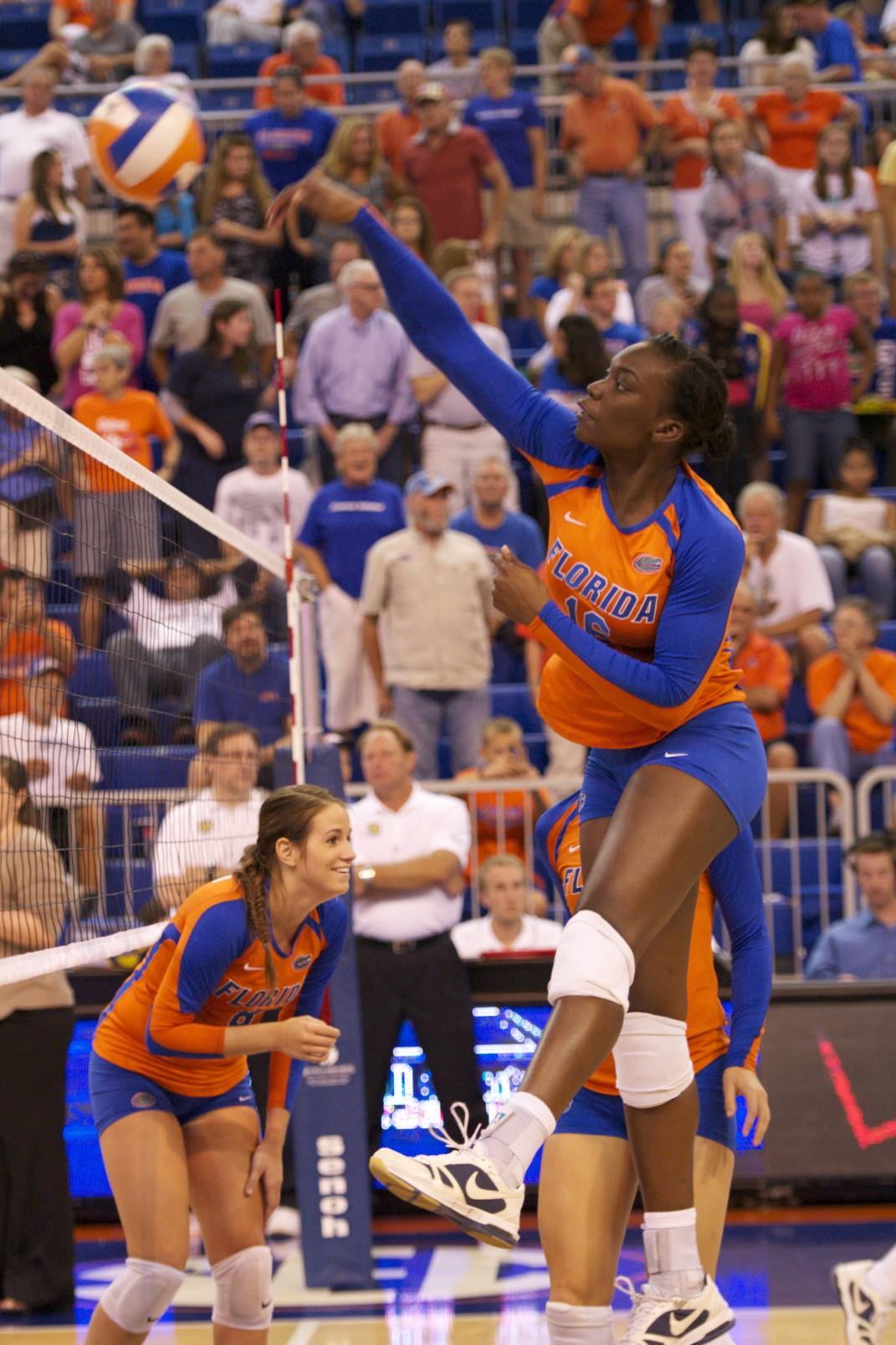Freshman Simone Antwi