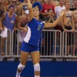 Urban Meyer's daughter, Gigi Meyer, is a setter for the Florida Gulf Coast volleyball team.
