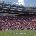 Florida fans filled the Ben Hill Griffin stadium to watch the Gators shutout Kentucky Saturday afternoon.