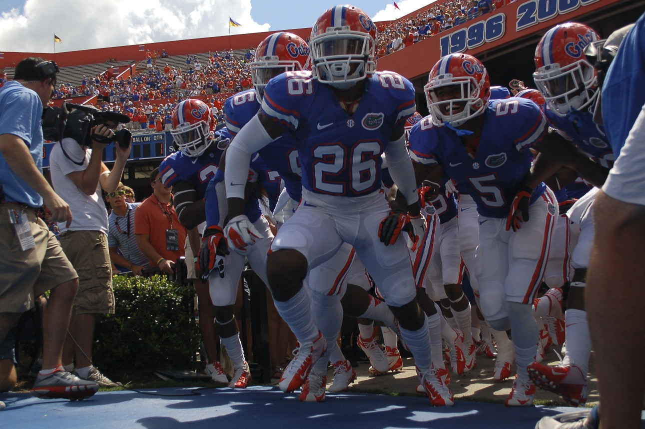 The Florida Gators defeated the Kentucky Wildcats 38-0, the first Florida SEC shutout in 11 years.
