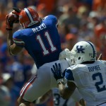 Jordan Reed catches a pass from quarterback Jeff Driskel in the second half.
