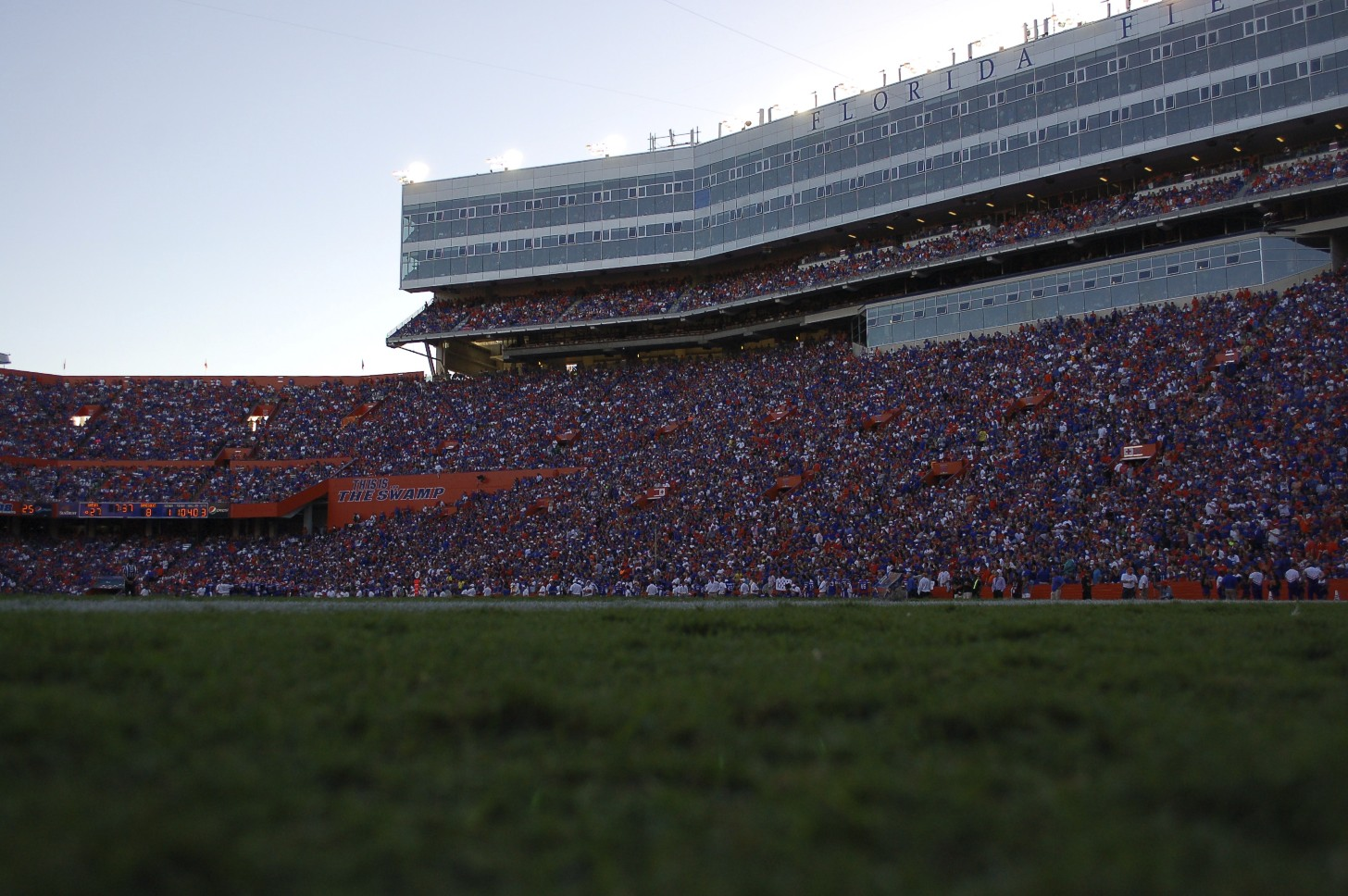 Ben Hill Griffin Stadium was full for the game on Saturday afternoon.