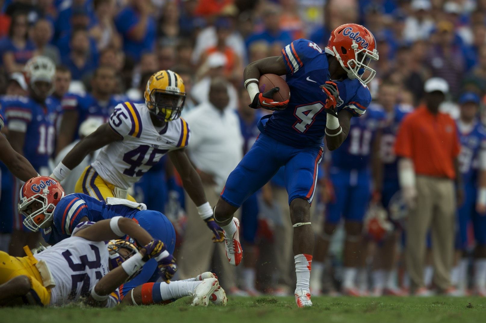Florida wide reciever Andre Debose