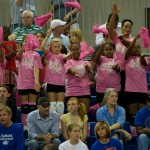 Many fans showed up to watch the Gators battle the Wildcats Sunday afternoon.
