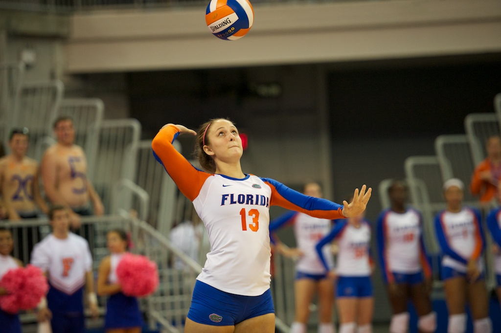 Sundai Weston of the Florida Gators