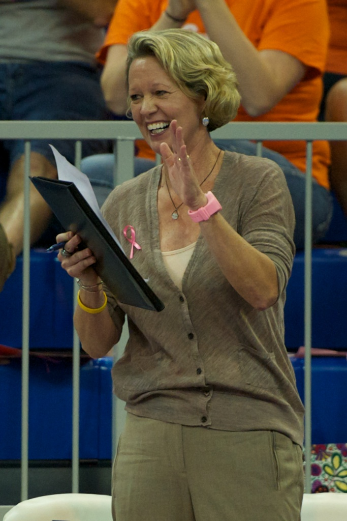 Florida head coach Mary Wise