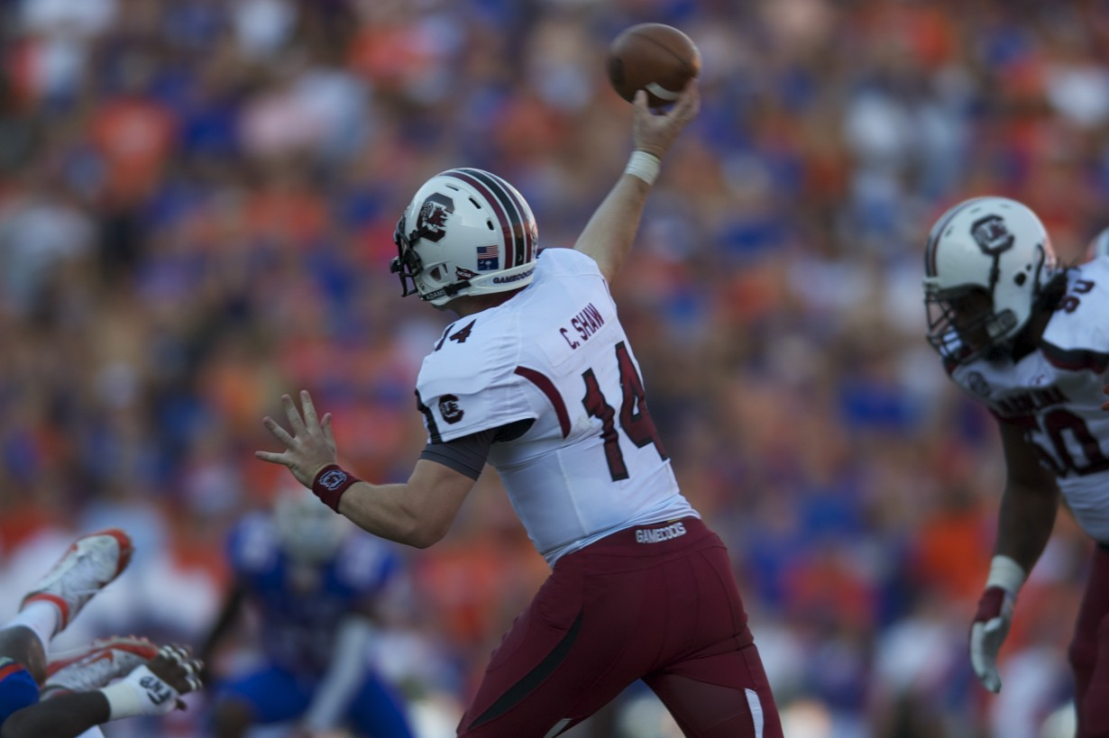 South Carolina quarterback Connor Shaw