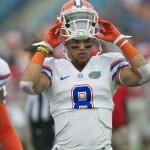 Florida's running back Trey Burton