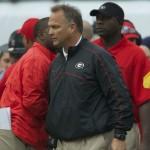 Georgia head coach Mark Richt
