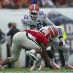 Despite the loss, Florida's defense performed well during Saturday's game, only allowing two touchdowns for the Georgia Bulldogs.