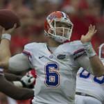 Florida's quarterback Jeff Driskel
