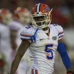 Florida's defensive back Marcus Roberson