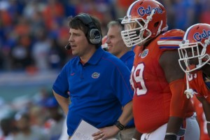Florida head coach Will Muschamp