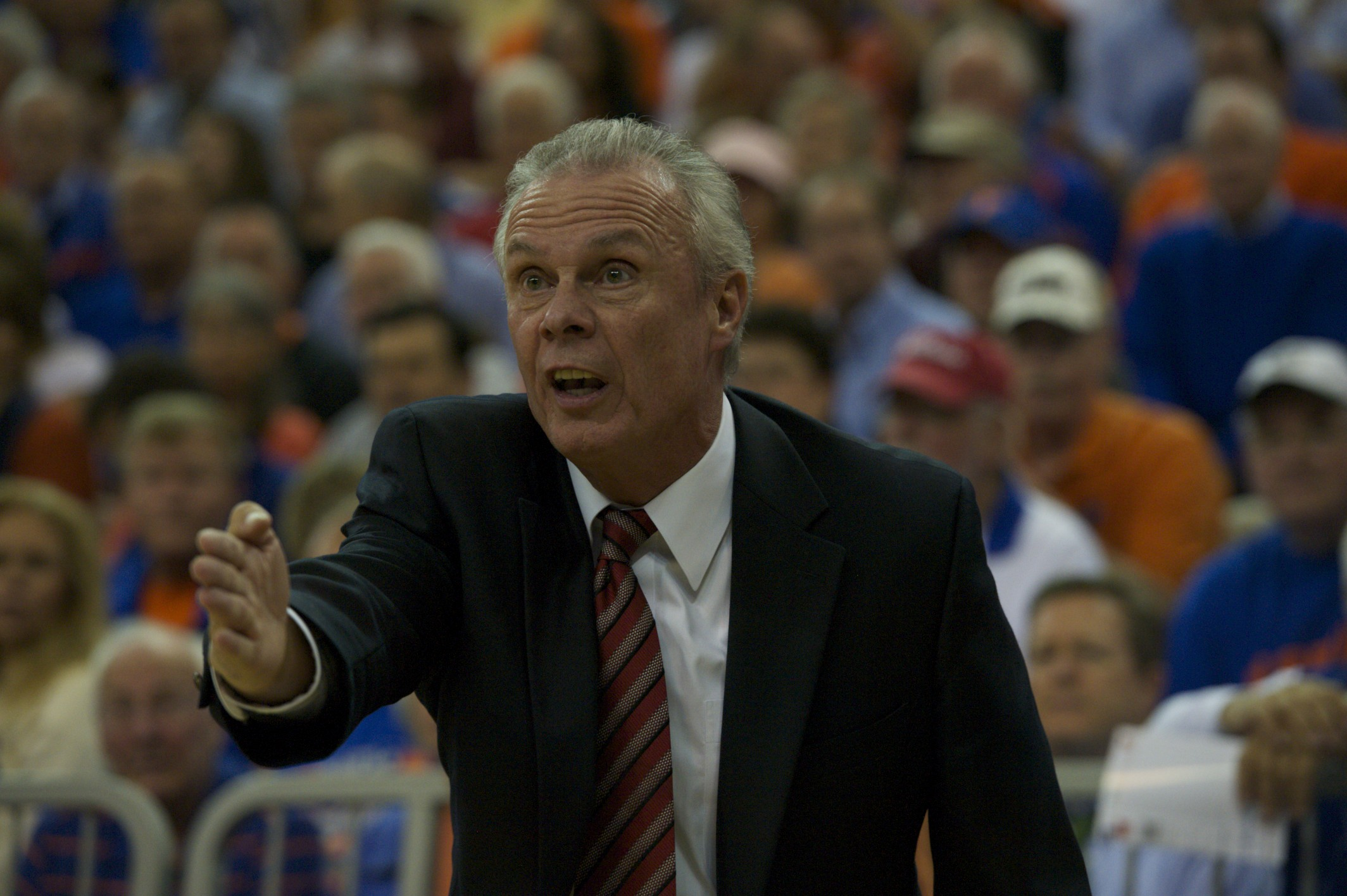 Wisconsin head coach Bo Ryan