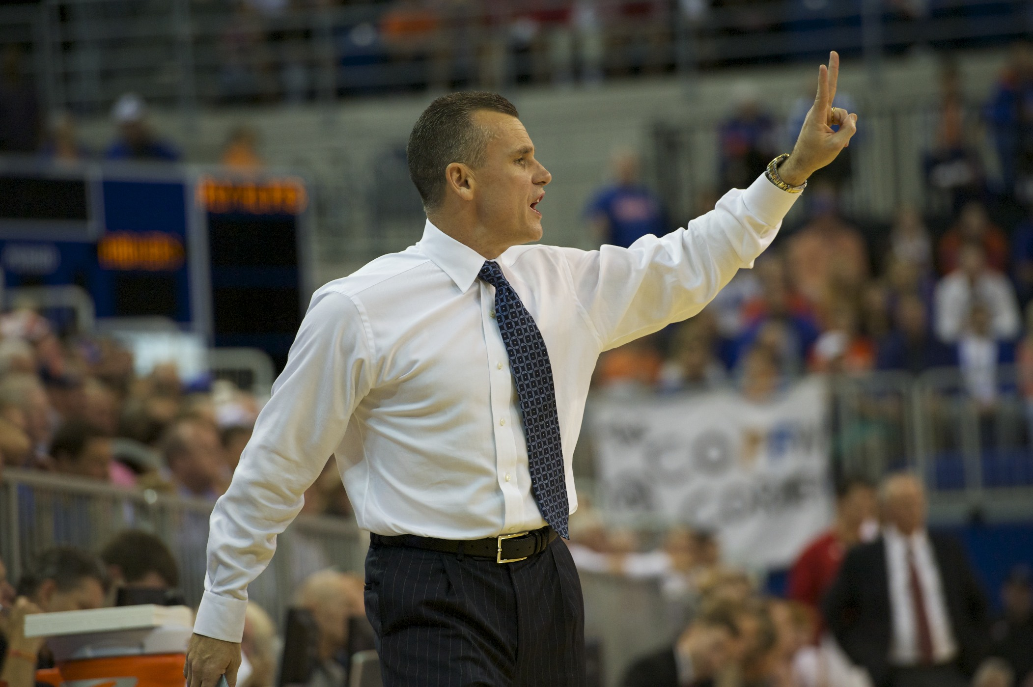 Florida head coach Billy Donovan