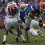 Florida running back Mike Gillislee (23)