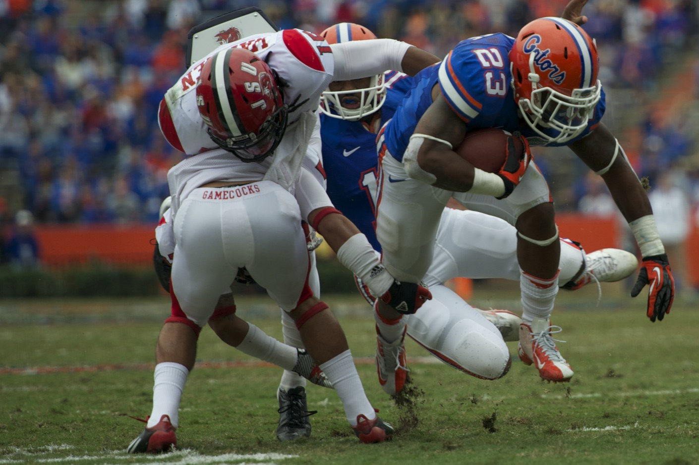 Florida running back Mike Gillislee (23)