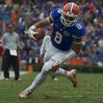 Florida running back Trey Burton (8)
