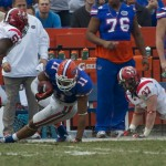 Tight end Jordan Reed (11) runs for a Florida first down in the fourth quarter of Saturday's game.