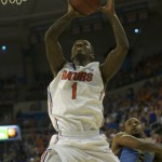 Kenny Boynton (1) scores for the Florida Gators in the second half of Thursday's game.