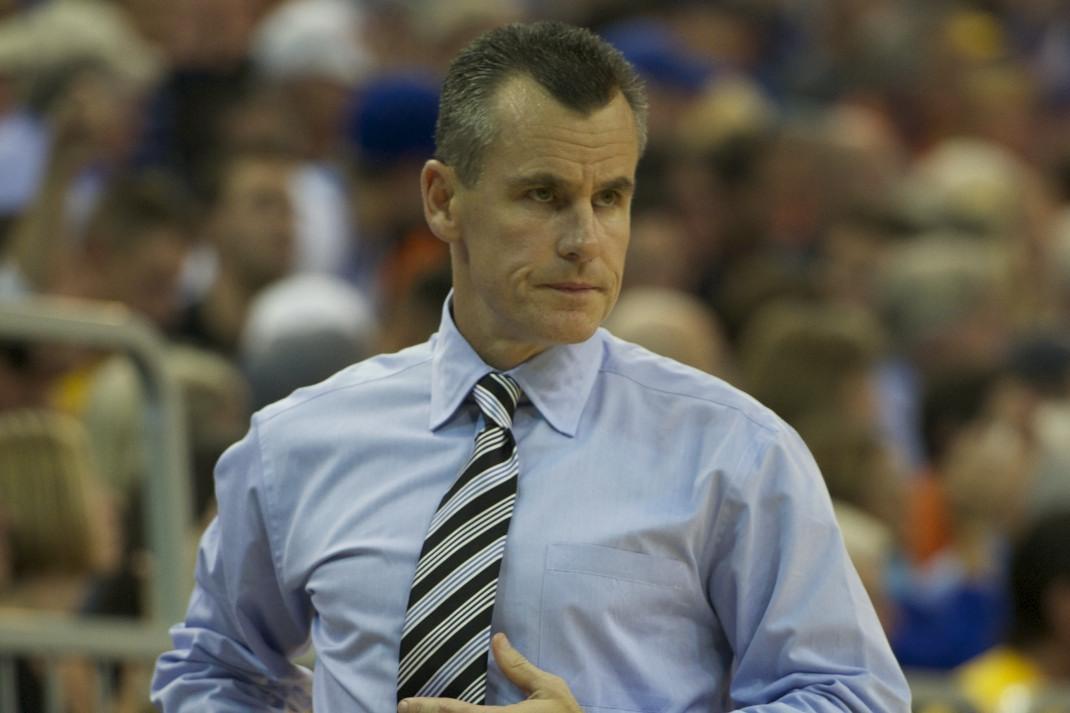 Florida head coach Billy Donovan