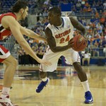 Florida's Casey Prather (24) had a total of 10 points Wednesday night against the Georgia Bulldogs.