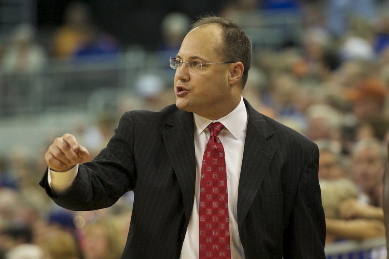 Georgia head coach Mark Fox