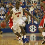 Patric Young (4) had 11 points for the Florida Gators Wednesday night.