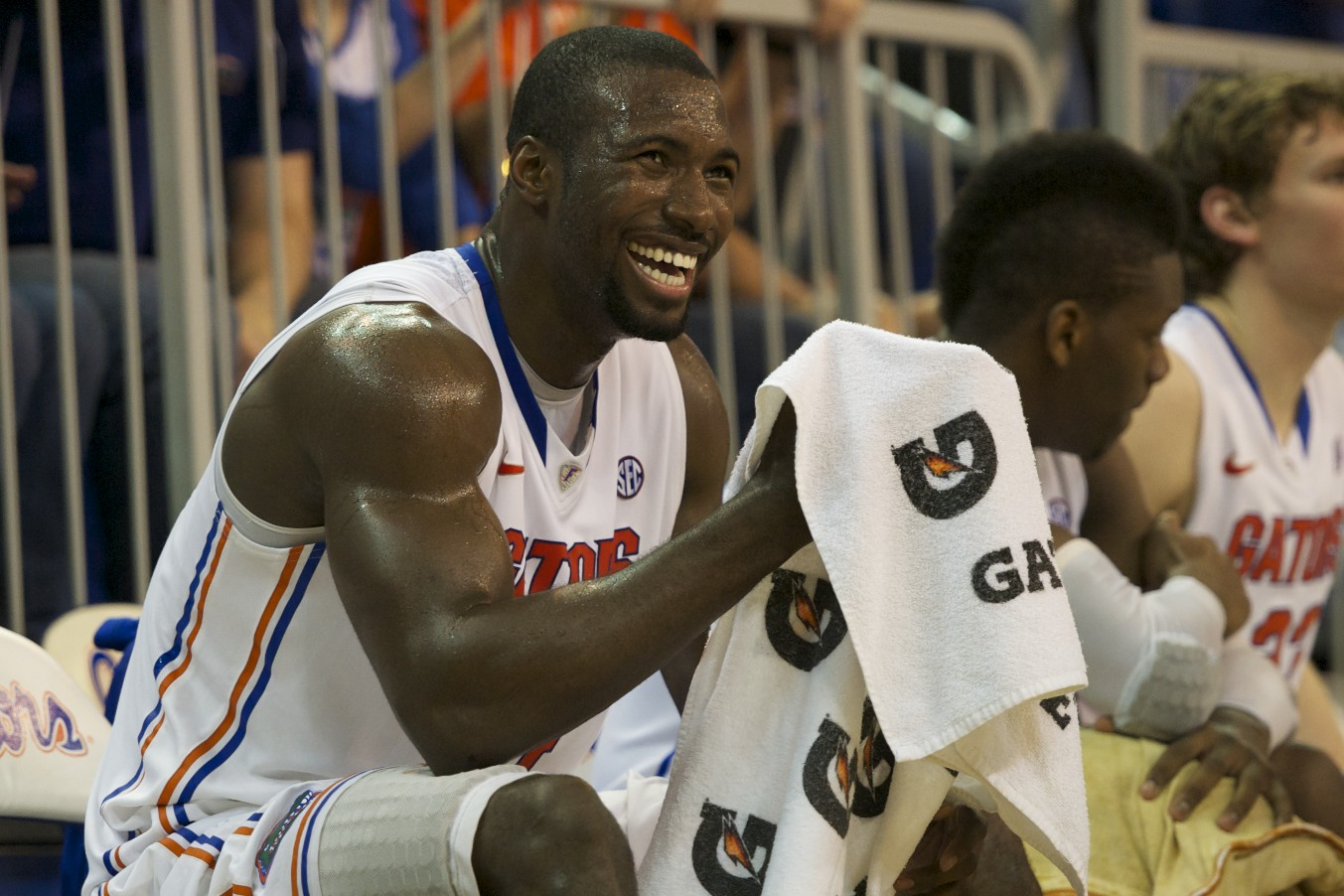 Center Patric Young (4)