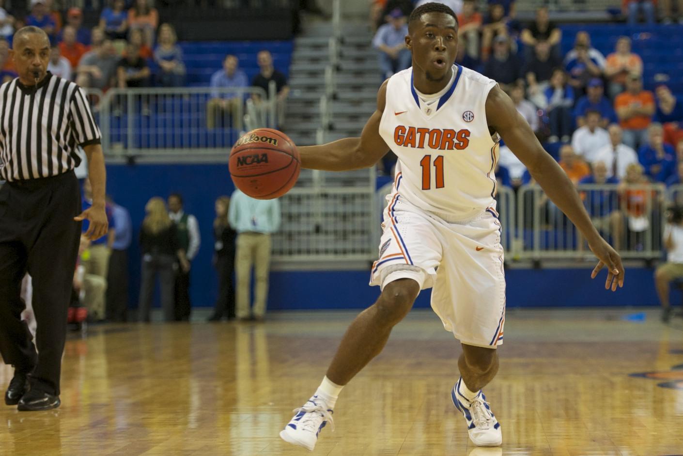 Florida's Braxton Ogubueze (11)