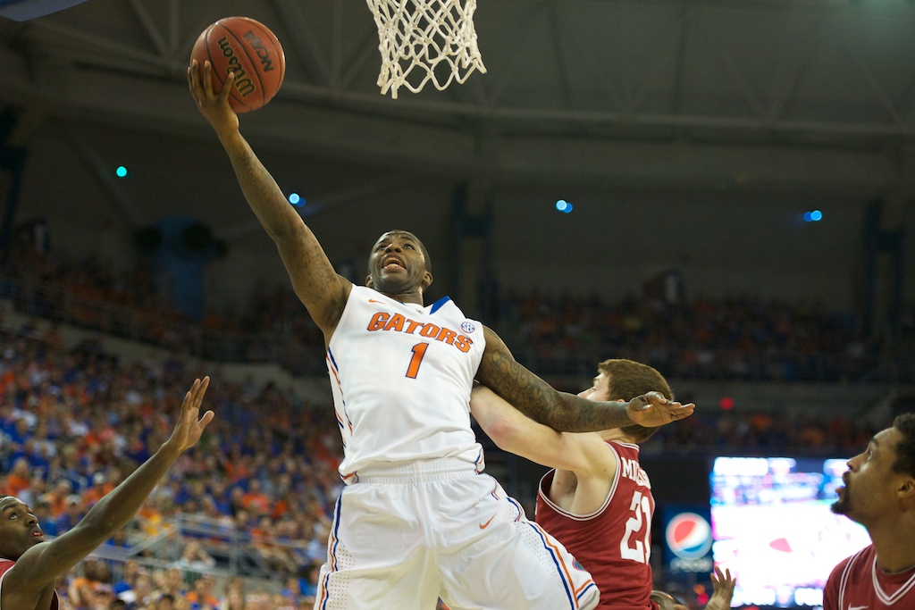Kenny Boynton (1) had 12 points for the Florida Gators Saturday night.