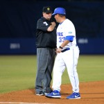 Craig Bell, one of Florida's assistant coaches, was ejected from the game Friday night after arguing with a ref over a call on Josh Tobias in the 11th inning. The Gators lost to Ole Miss 4-3 Friday night in an 11-inning game at McKeethan Stadium.