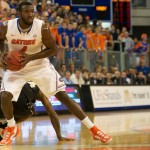 Junior Patric Young (4) had 14 points for the Florida Gators Wednesday night.