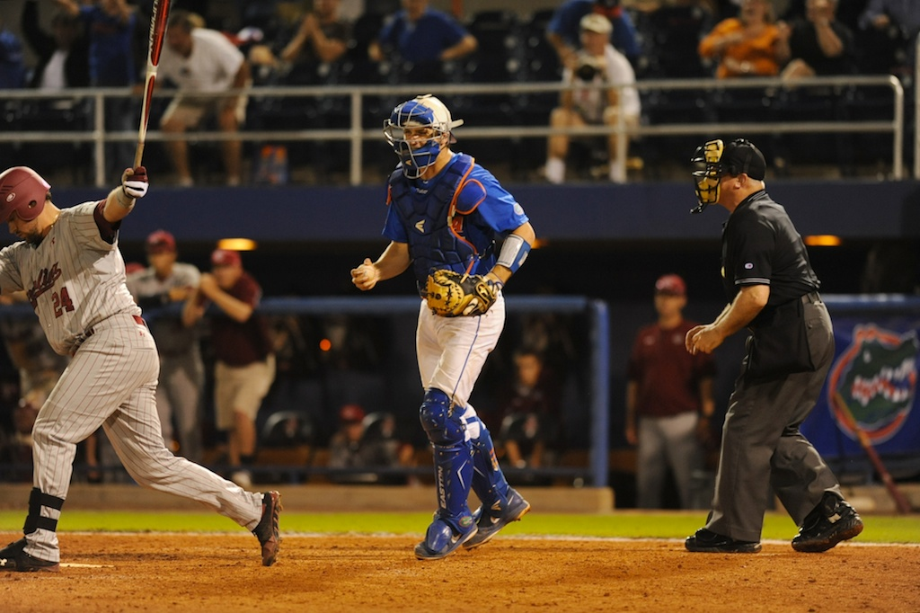 Florida defeated South Carolina 4-3 Friday night.
