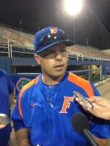 Gators Head Coach Kevin O'Sullivan talks to the media about the next two games in the series