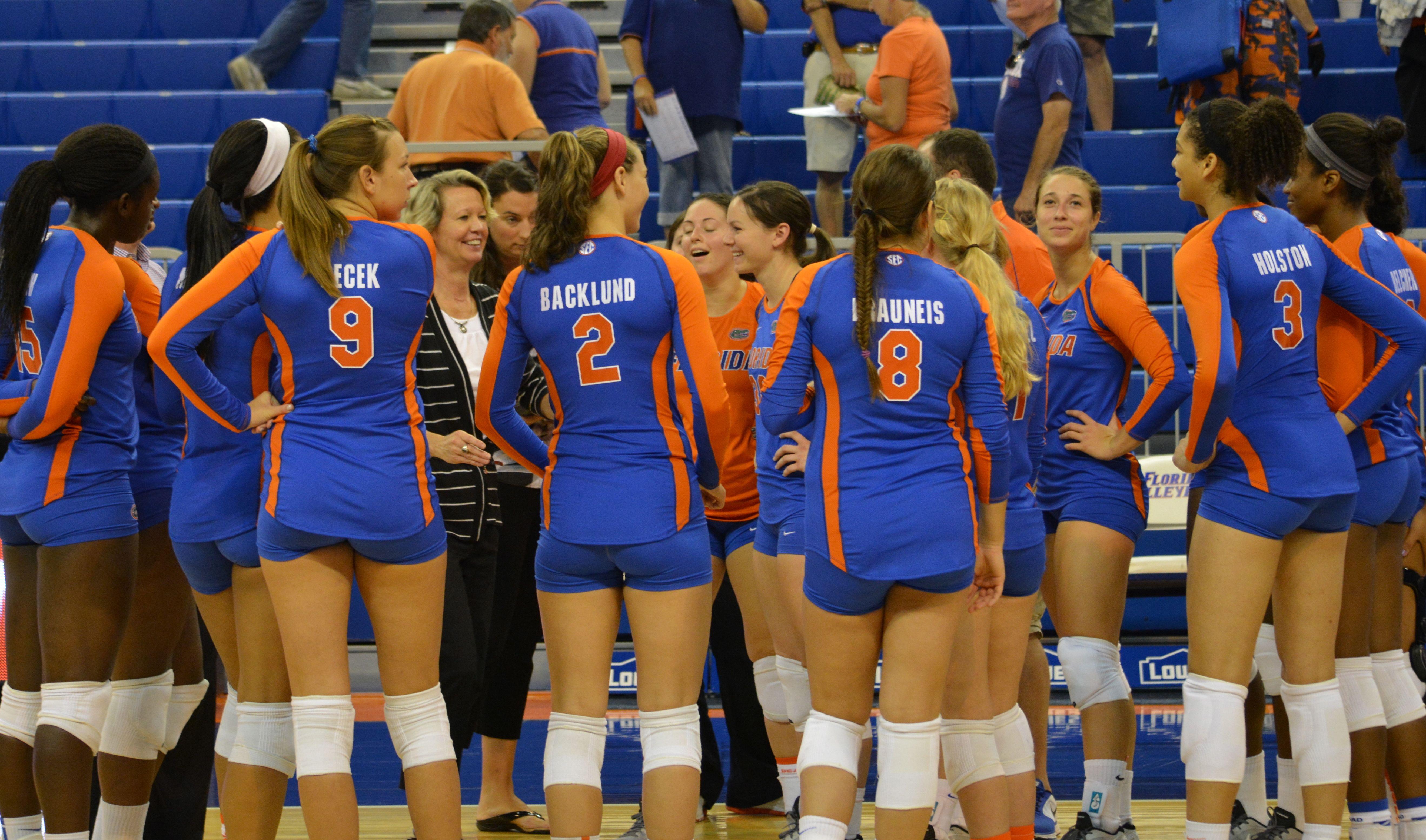 Gator Volleyball sweeps Lady Vols - ESPN 98.1 FM - 850 AM WRUF