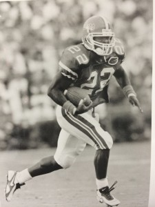 Terry Jackson during his tenure at Florida