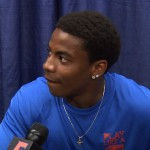 Vernon Hargreaves III meeting with the media.