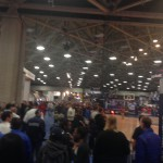 The crowd at Saturday's Bracket Town.