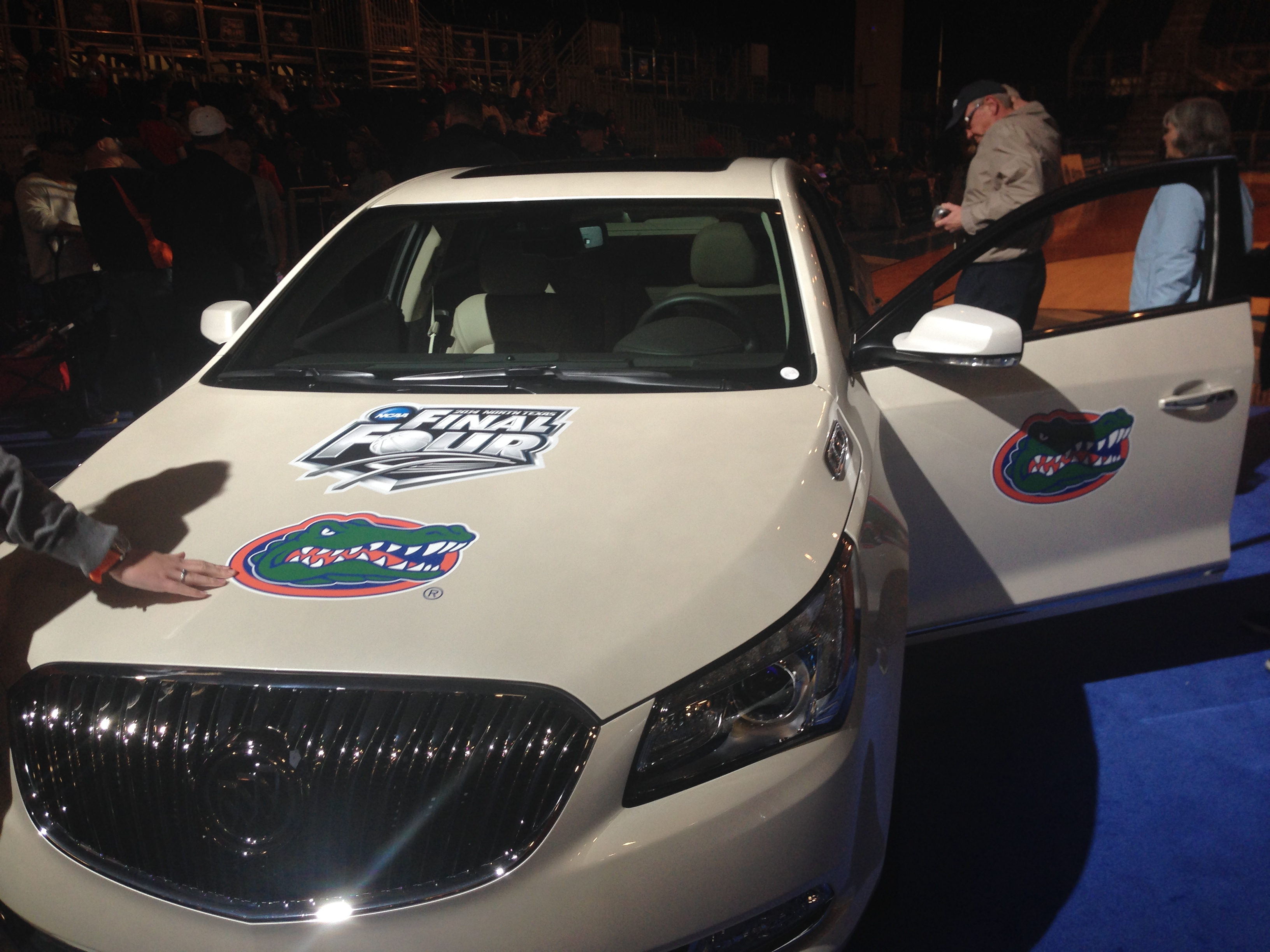 Gator car at  Bracket Town