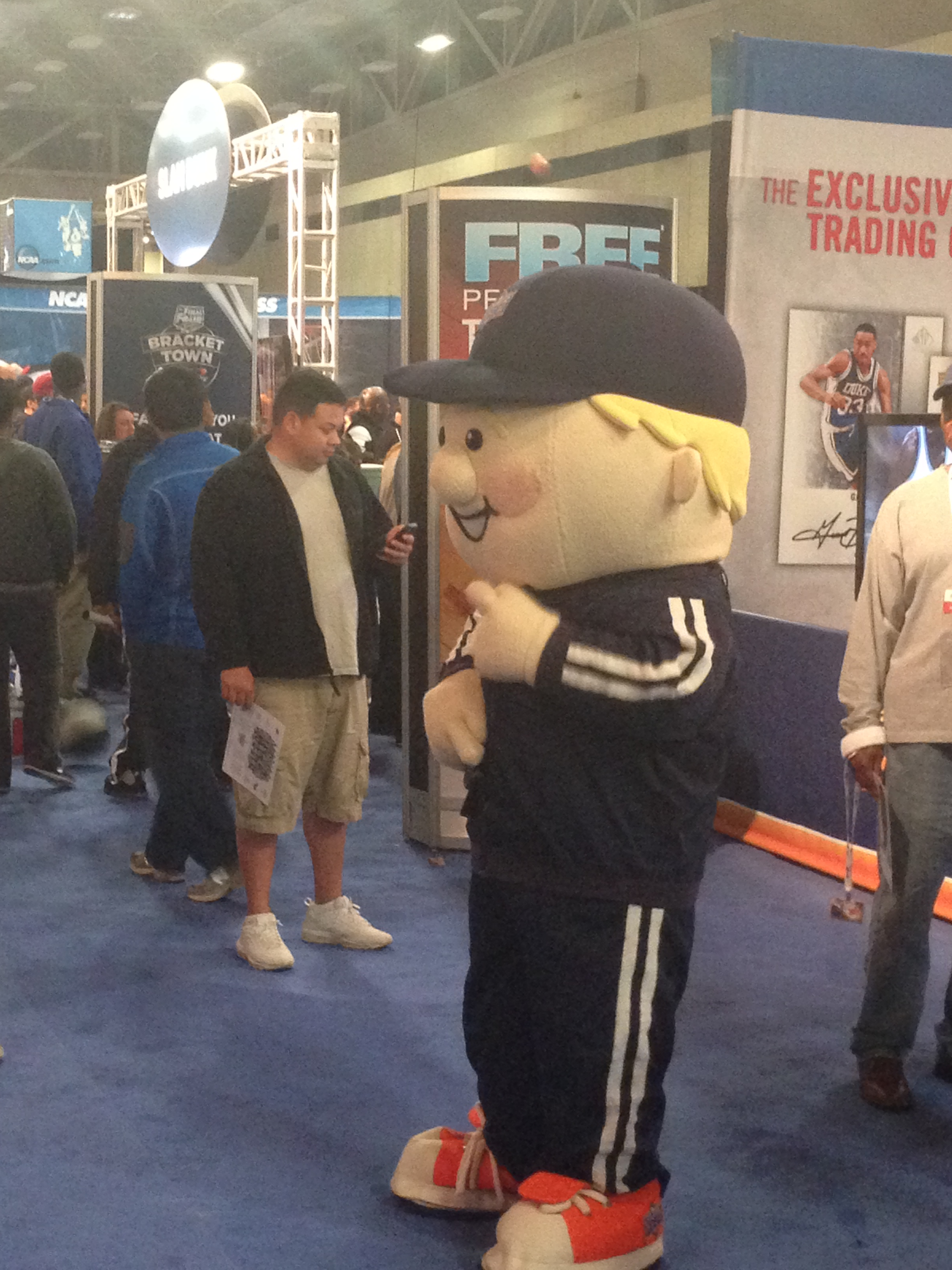 One of the many mascots at Bracket Town, this one is for Upper Deck
