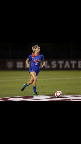 Christen Westphal leads the Gators and the SEC with eight assist this season